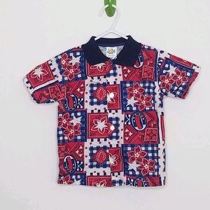 Cuties by Judy Western Cowboy Button Shirt 12m